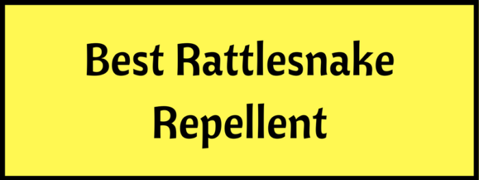 Rattlesnake repellents in 2019