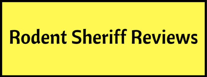 Rodent Sheriff Reviews