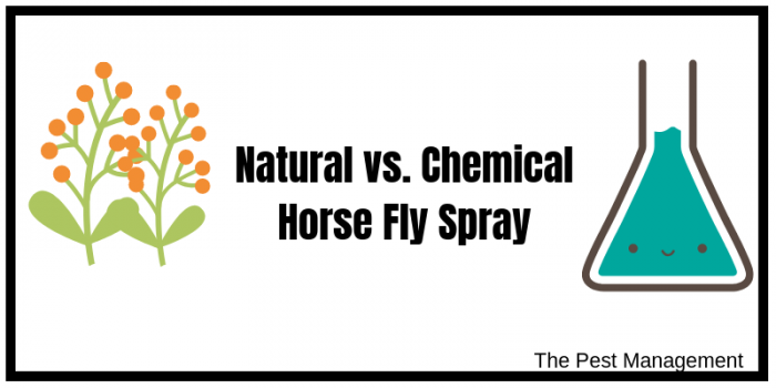 Natural and Chemical Equine Spray
