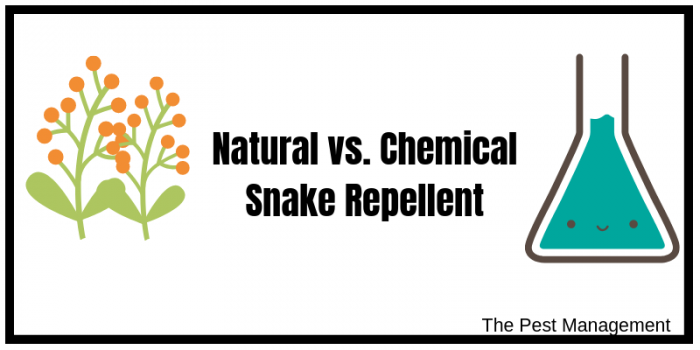 Different types of snake repellents
